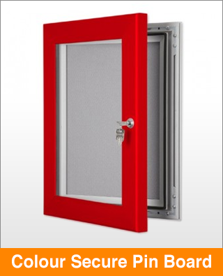 Colour Secure Lock Pin Board