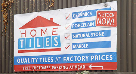 CRS Display Customised Banners