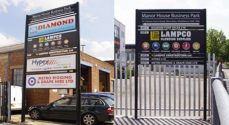 CRS Display Outdoor Signage