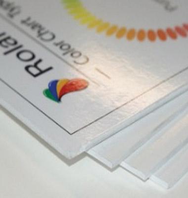 Custom Sizes - Vinyl mounted to Foamex