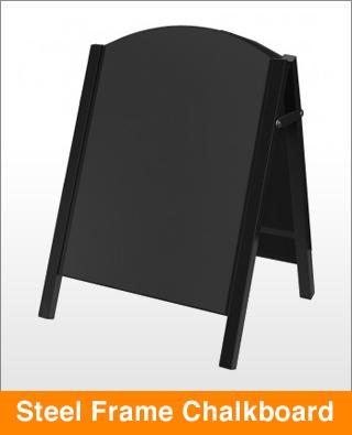 Steel Frame Chalkboard