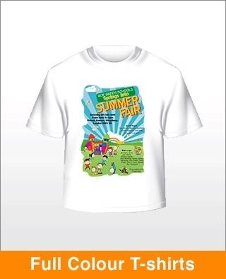 Full Colour Tshirts