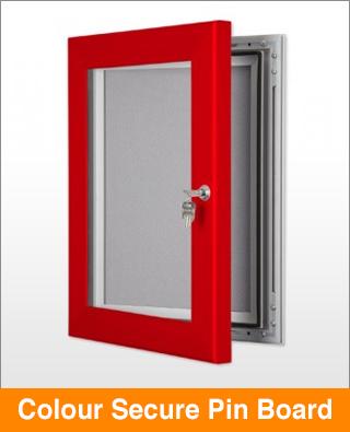 Colour Secure Lock Pin Board