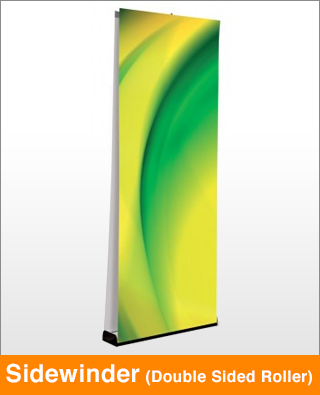 Sidewinder Double Sided Banner